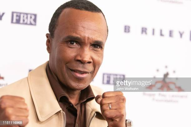 Sugar Ray Leonard attends Sugar Ray Leonard Foundation's 10th Annual 'Big Fighters, Big Cause' Charity Boxing Night at The Beverly Hilton Hotel on...