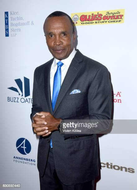 Sugar Ray Leonard attends the 17th Annual Harold Carole Pump Foundation Gala at The Beverly Hilton Hotel on August 11 2017 in Beverly Hills California