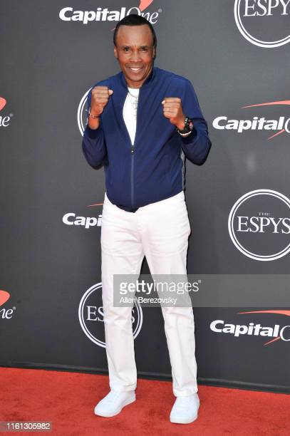 Sugar Ray Leonard attends the 2019 ESPY Awards at Microsoft Theater on July 10, 2019 in Los Angeles, California.