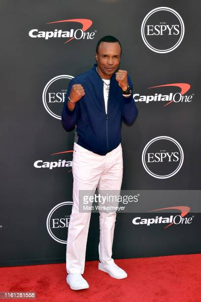 Sugar Ray Leonard attends The 2019 ESPYs at Microsoft Theater on July 10, 2019 in Los Angeles, California.