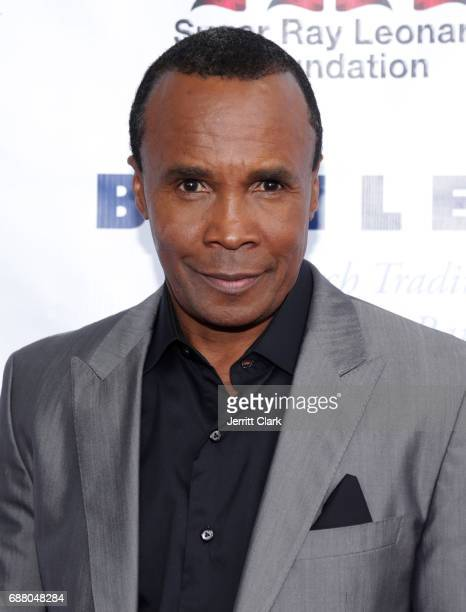 Sugar Ray Leonard attends the 8th Annual 'Big Fighters Big Cause' Charity Boxing Night at the Loews Santa Monica Beach Hotel on May 24 2017 in Santa...