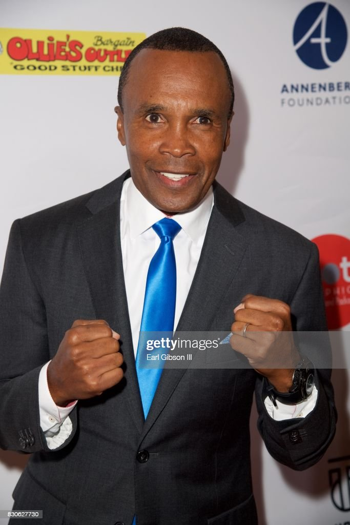 Sugar Ray Leonard attends the Harold & Carole Pump Foundation Gala at The Beverly Hilton Hotel on August 11, 2017 in Beverly Hills, California.