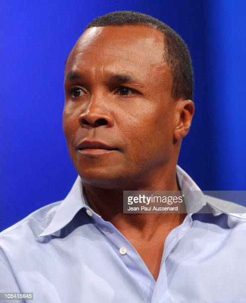 Sugar Ray Leonard during NBC Summer Press Tour - Day One at Century Plaza Hotel in Century City, California, United States.