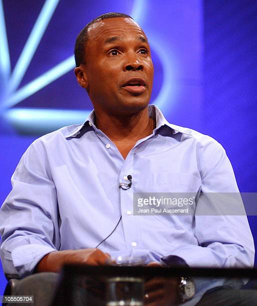 Sugar Ray Leonard during NBC Summer Press Tour Day One at Century Plaza Hotel in Century City California United States