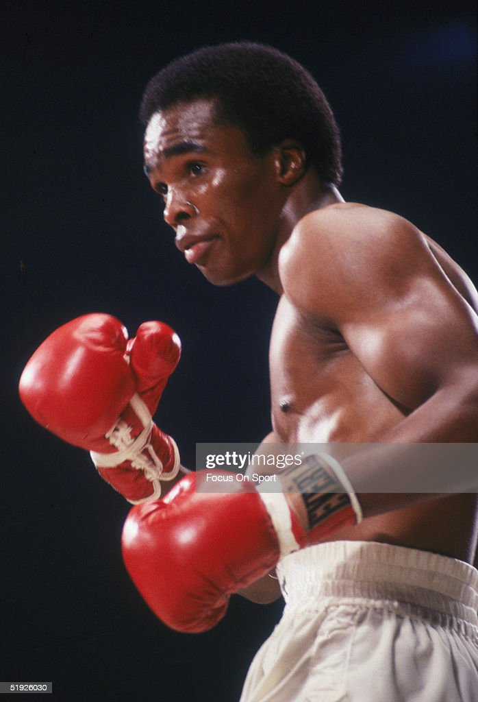Sugar Ray Leonard... : News Photo