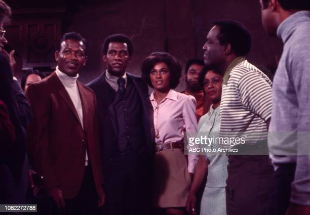 Sugar Ray Robinson Scoey Mitchell Tracy Reed Thelma Carpenter Nipsey Russell extras appearing in the Walt Disney Television via Getty Images series...