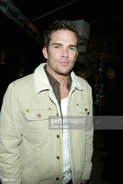 Sugar Rays' Mark McGrath arrives at the Warner Music Group's PostGrammy party at Katana on February 8 2004 in West Hollywood California