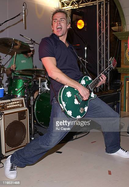 Sugar Ray's Mark McGrath during Volvo Cars Of North America Celebrates Their 75th Anniversary With Party In New York's Times Square at Time Square...