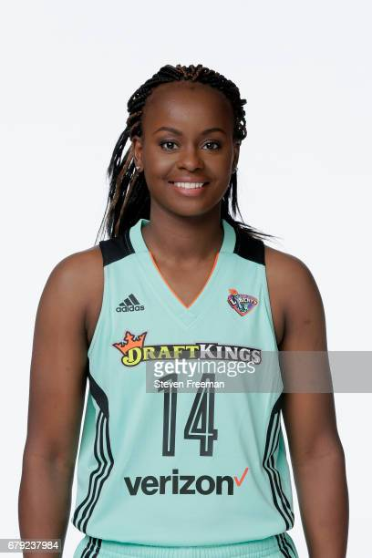 Sugar Rodgers of the New York Liberty poses for a portrait at Media Day at MSG Training Center on May 4 2017 in Tarrytown New York NOTE TO USER User...