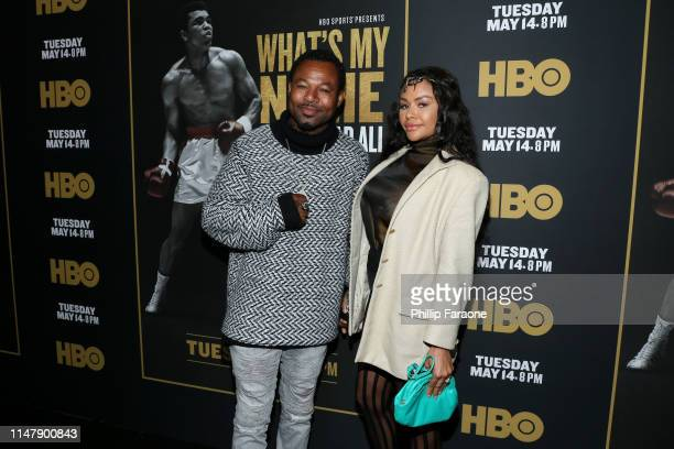 Sugar Shane Mosley attends the premiere of HBO's What's My Name Muhammad Ali at Regal Cinemas LA LIVE Stadium 14 on May 08 2019 in Los Angeles...