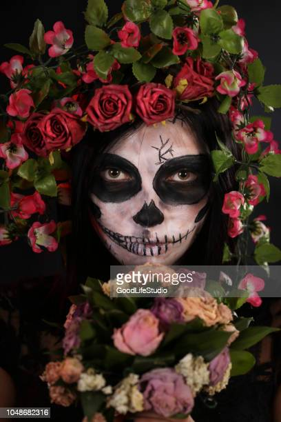 sugar skull - sugar skull stock photos and pictures