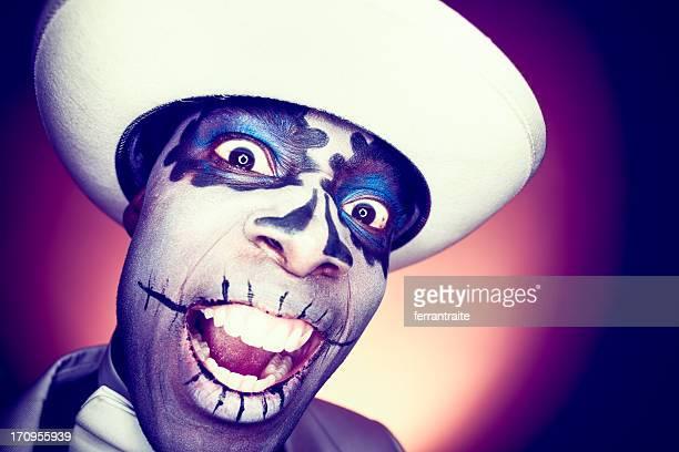 Sugar Skull Voodoo Scream