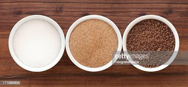 sugar sorten - zucker stock-fotos und bilder