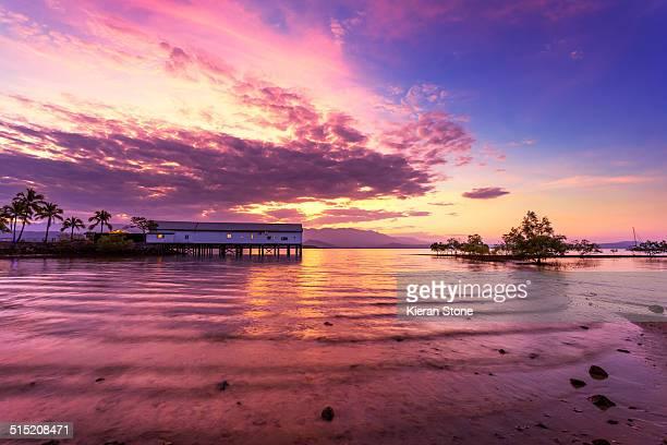 Sugar Wharf at sunrise
