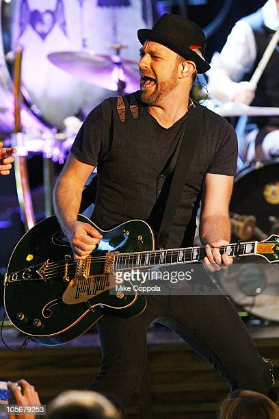 Sugarland singer/guitarist Kristian Bush performs at the Best Buy Theater on October 18, 2010 in New York City.
