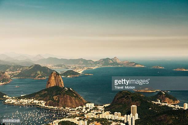 Pão-de-açúcar no Rio de Janeiro, Brasil