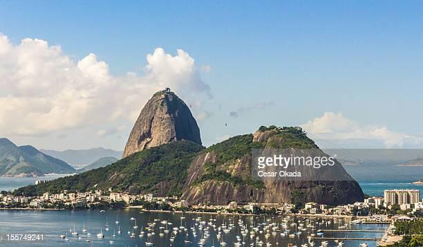 zuckerhutberg von rio - rio de janeiro stock-fotos und bilder