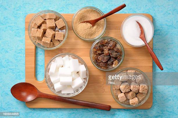 sugars - sugar bowl crockery stock photos and pictures