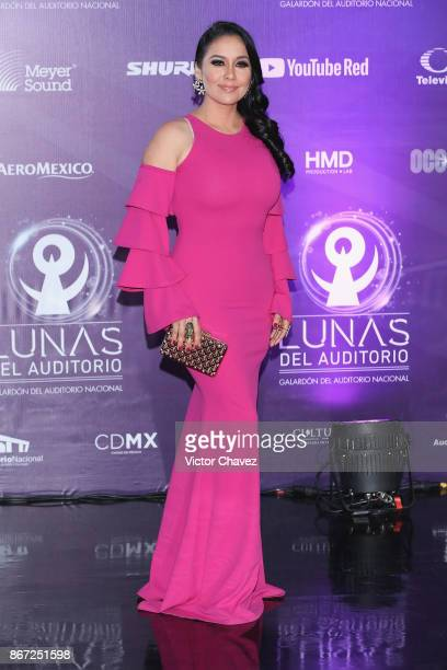Sugey Abrego attends Las Lunas del Auditorio Nacional 2017 at Auditorio Nacional on October 25 2017 in Mexico City Mexico