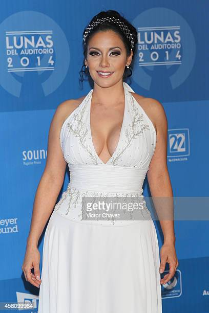 Sugey Abrego attends Lunas Del Auditorio Nacional 2014 at Auditorio Nacional on October 29 2014 in Mexico City Mexico