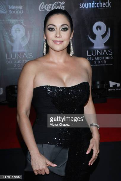 Sugey Abrego attends the Lunas del Auditorio 2019 at Auditorio Nacional on October 30 2019 in Mexico City Mexico