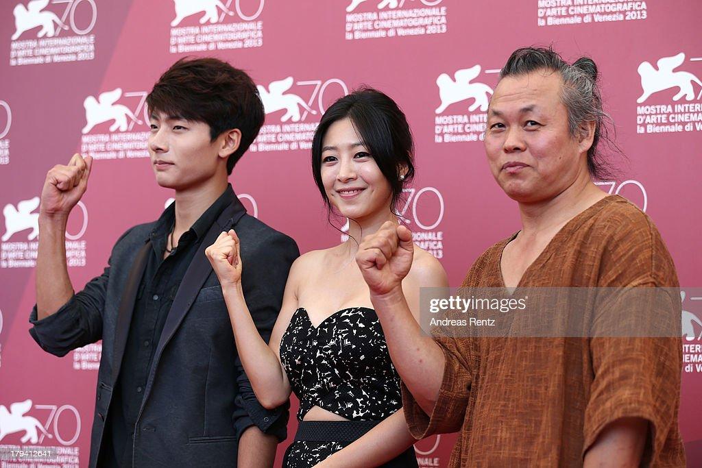 'Moebius' Photocall - The 70th Venice International Film Festival