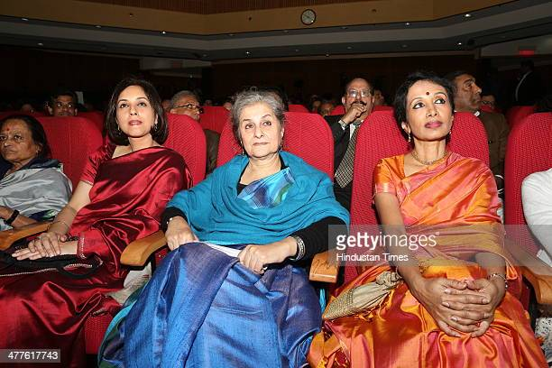 Suhasini Haider Senior television editor Syeda Hameed Women Rights Activist and a member of the Planning Commission and Bharatanatyam dancer Alarmel...