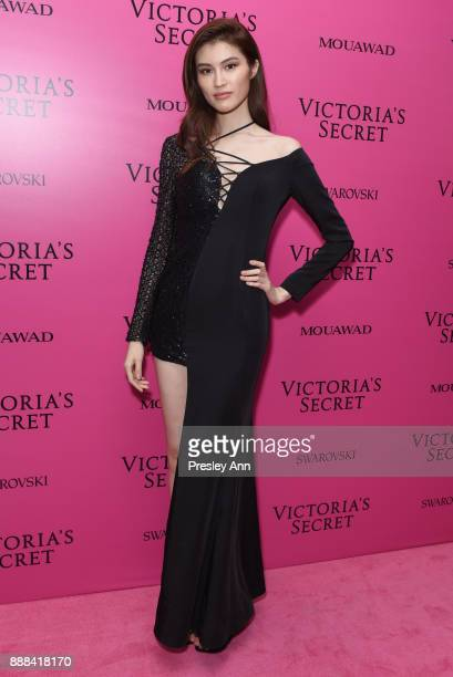 Sui He attends 2017 Victoria's Secret Fashion Show In Shanghai After Party at MercedesBenz Arena on November 20 2017 in Shanghai China