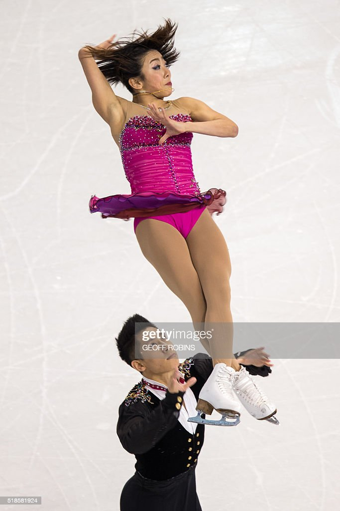 US-FSKATE-ISU-WORLD-CHAMPIONSHIP : News Photo