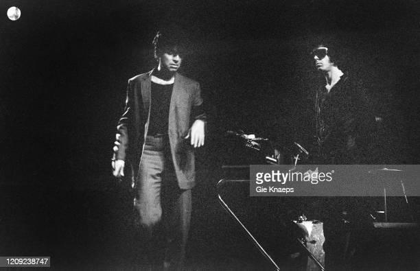Suicide, Alan Vega, Martin Rev, Ancienne Belgique , Brussel, Belgium, 16 June 1978.