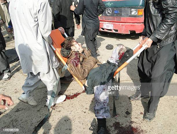 Suicide bombers targeted Shiite Muslim worshippers in three Afghan cities today Tuesday December 6 including the Abu Fazlul Abbas shrine in Kabul...