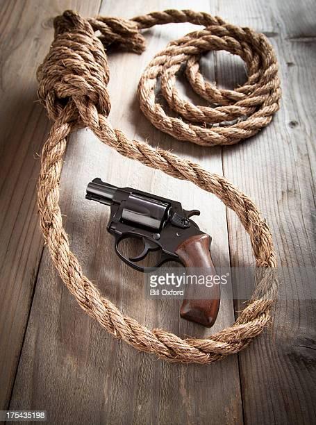 suicídio - assassino - fotografias e filmes do acervo