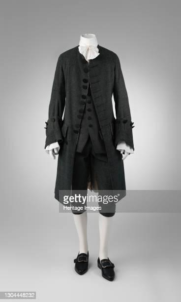 Suit, British, 1755-65. Artist Unknown.