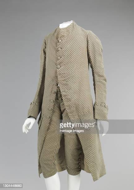 Suit, British, circa 1760. Artist Unknown.