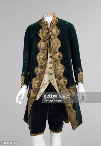 Suit, Italian, 1740-60. Artist Unknown.