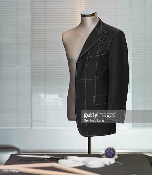 Suit Jacket on Tailor's Dummy