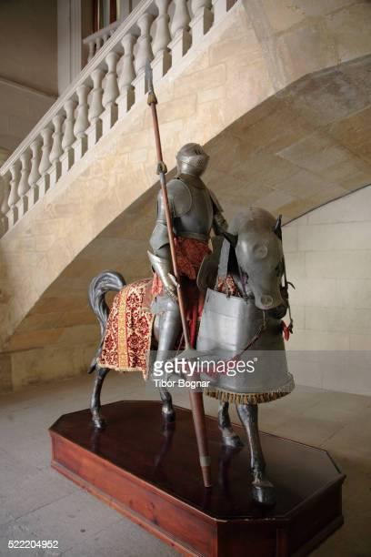 Suit of Armor on Horseback in Palacio de los Guzmanes