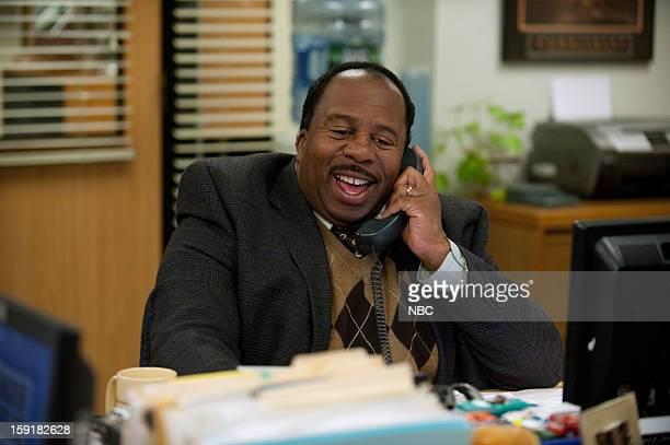 """Suit Warehouse"""" Episode 912 -- Pictured: Leslie David Baker as Stanley Hudson --"""