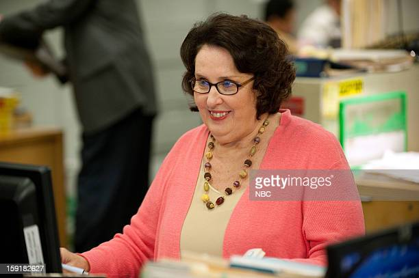 """Suit Warehouse"""" Episode 912 -- Pictured: Phyllis Smith as Phyllis Vance --"""