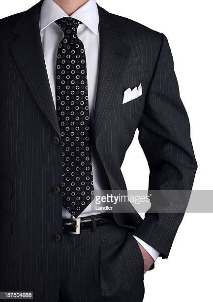 suit with shirt and necktie