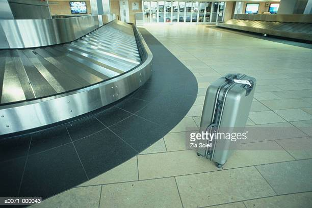Suitcase at Baggage Claim