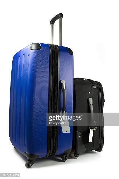 Suitcase on wheels