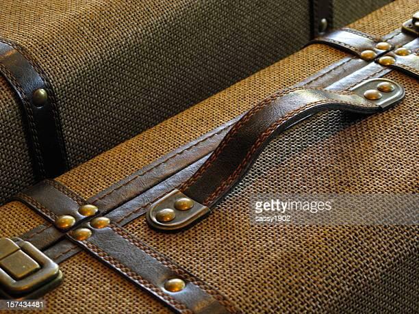 Koffer Gepäck reisen Vintage-Nahaufnahme