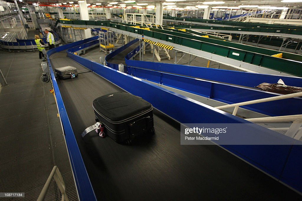 Behind The Scenes At Heathrow's Terminal Five : News Photo
