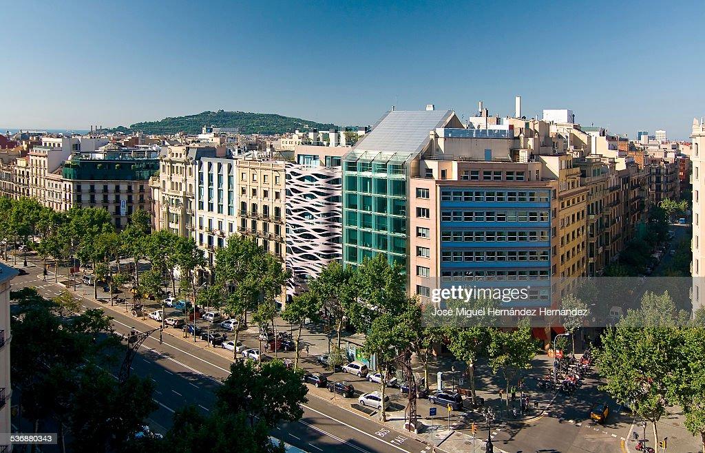 Suites Avenue, Passeig de Gracia, Barcelona, Spain : Stock Photo