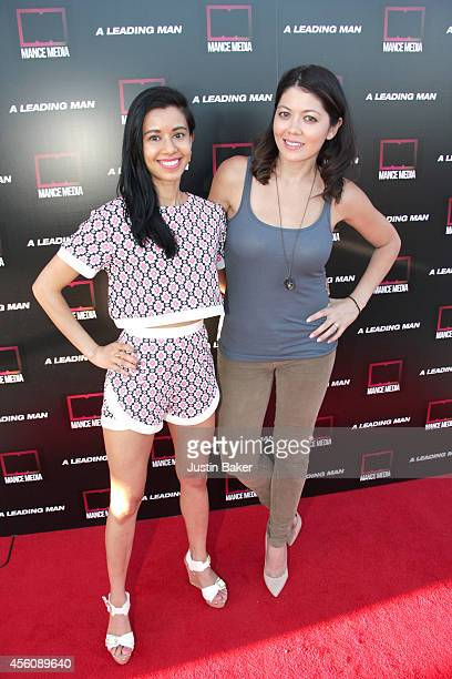 Sujata Day and Michanne Quinney attend 'A Leading Man' Los Angeles Premiere at the Vista Theatre on September 24 2014 in Los Angeles California