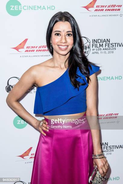 Sujata Day attends the 16th Annual Indian Film Festival Of Los Angeles opening night premiere of 'In The Shadows' at Regal LA Live Stadium 14 on...