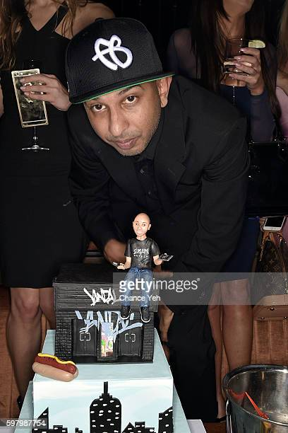 Sujit Kundu is seen at his 21st birthday celebration at Vandal on August 29, 2016 in New York City.