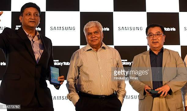 Sukesh Jain Vice President Samsung India Electronics Ram Sewak Sharma Chairperson of the Telecom Regulatory Authority of India Ken Kang Senior Vice...