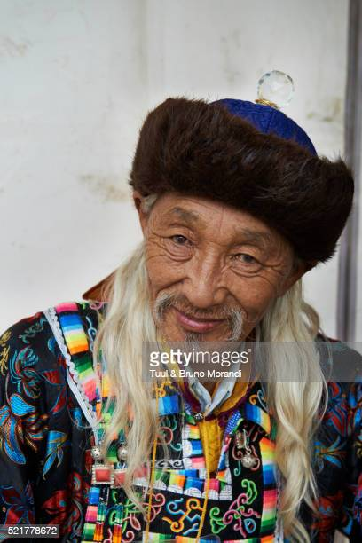 sukhbaatar square festival - fur hat stock pictures, royalty-free photos & images